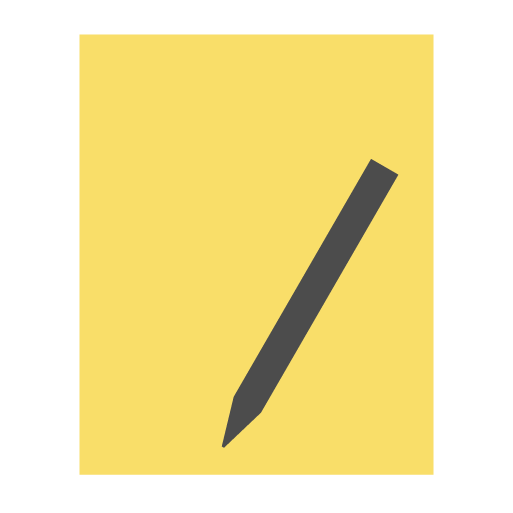 appicns, notes, stickies, textedit, write icon