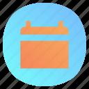 app, calendar, date, mobile icon