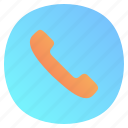 app, call, dialer, mobile, ringing icon