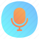 app, mic, mobile, record, voice icon