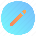 app, edit, mobile, notes, pencil icon