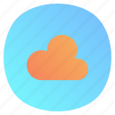 app, cloud, mobile, sky, weather icon