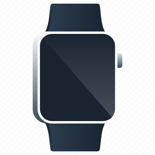 apple, clock, device, screen, smartwatch, watch, wristband icon