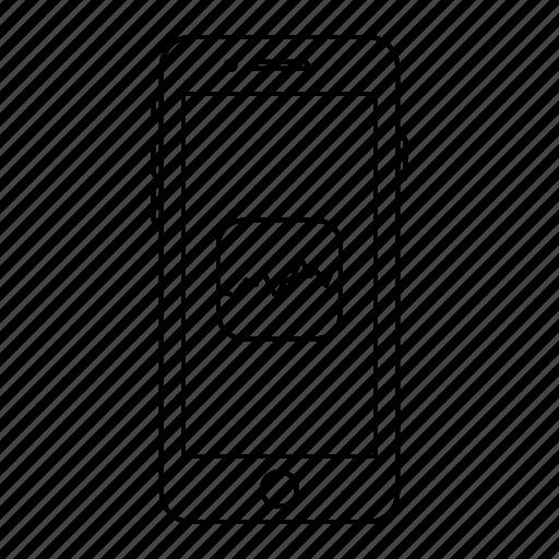 app, apple, iphone, mobile, phone, screen, stocks icon