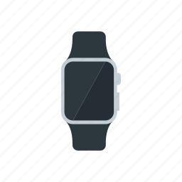 apple, iwatch, silver, smartwatch, sport icon