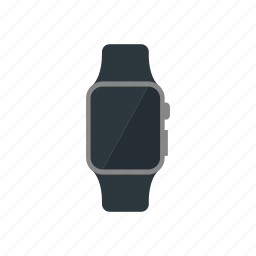 apple, iwatch, smartwatch, spacegrey icon