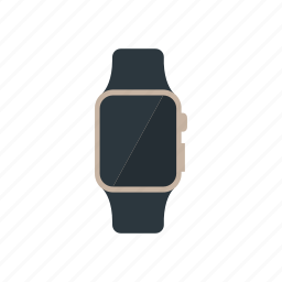 apple, gold, iwatch, smartwatch icon