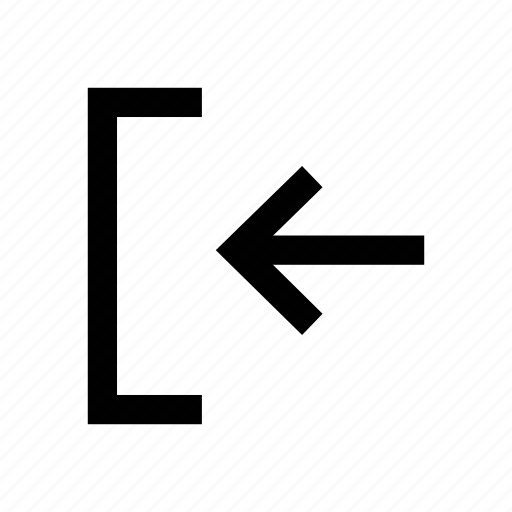 arrow, diagonal, left, left arrow, left sign, sign icon