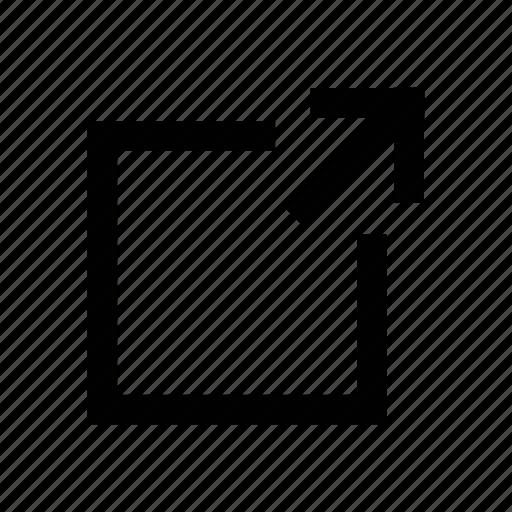 database, enlarge, expand, grow, platform icon