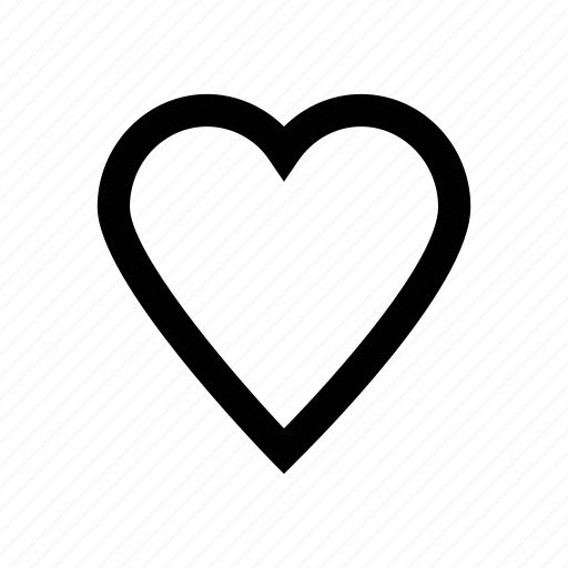 heart vector icon for love, relationship, romance, romantic, valentine's day and crush designs. icon