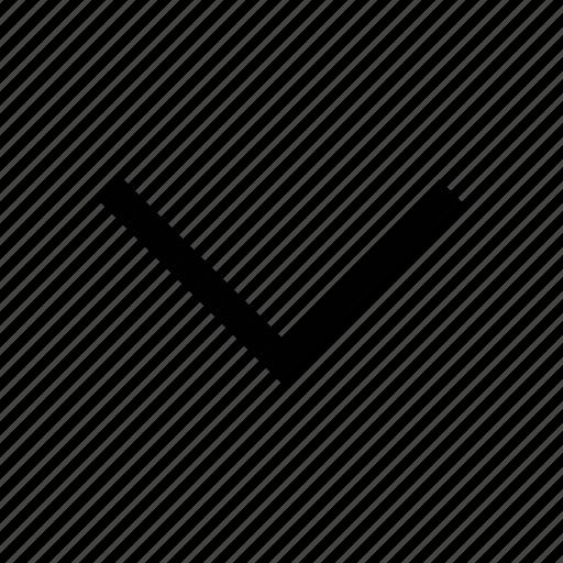 arrow, cursor, down, download, downloading, move, navigation arrow icon