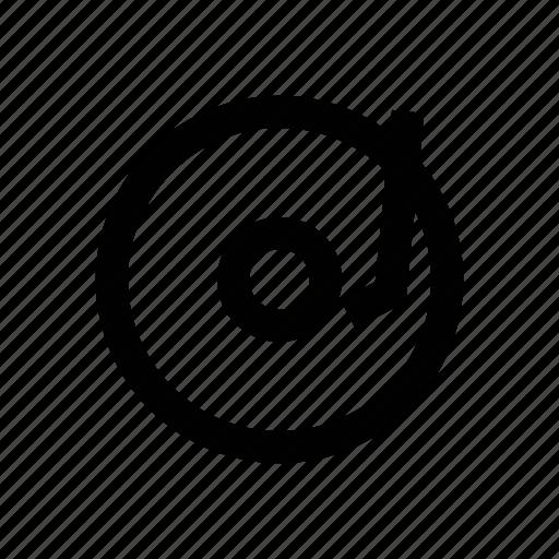 audio, device, melody, music, vinyl icon