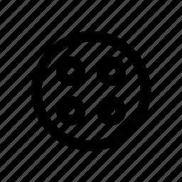bobbine reel, camera reel, film stip, movie stip, multimedia, reel, sound icon