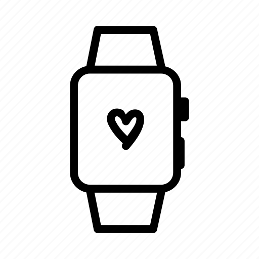 Apple, ios, iwatch, smartwatch, watch, wristwatch icon - Download on Iconfinder