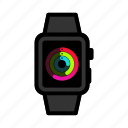 apple, digital, ios, iwatch, smartwatch, watch, wristwatch