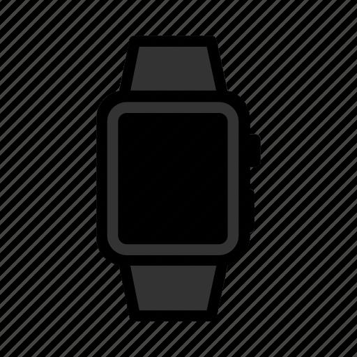 apple, digitalwatch, ios, iwatch, smartwatch, watch, wristwatch icon