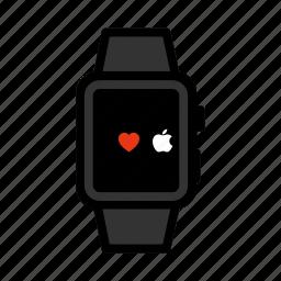 apple, digital, ios, iwatch, smartwatch, watch, wristwatch icon