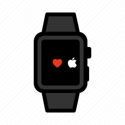Apple, digital, ios, iwatch, smartwatch, watch, wristwatch icon - Download on Iconfinder