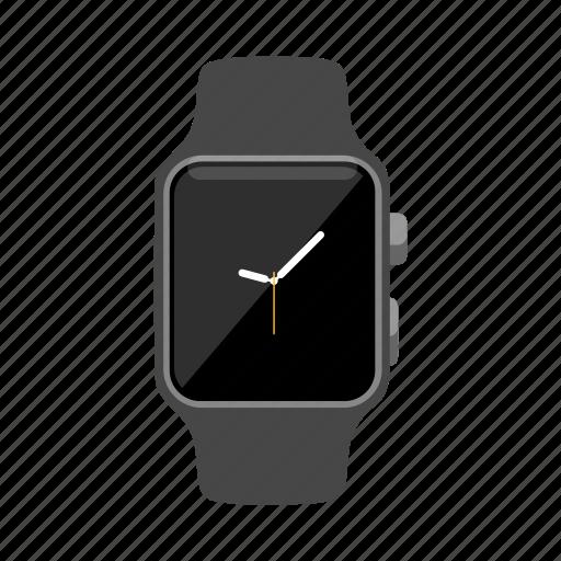 Applewatch, ios, iwatch, smartwatch, watch, wristwatch icon - Download on Iconfinder