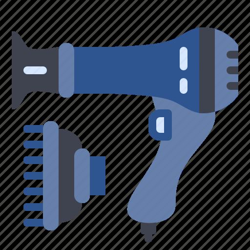 Appliances, blow, dryer, hair, hairdryer icon - Download on Iconfinder