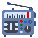appliances, radio, stereo, transistor icon