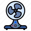 appliances, cooling, fan, ventilator icon