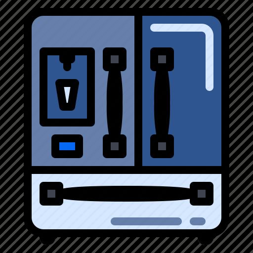 appliances, freezer, fridge, refrigerator icon