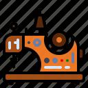 appliances, machine, needle, sewing icon