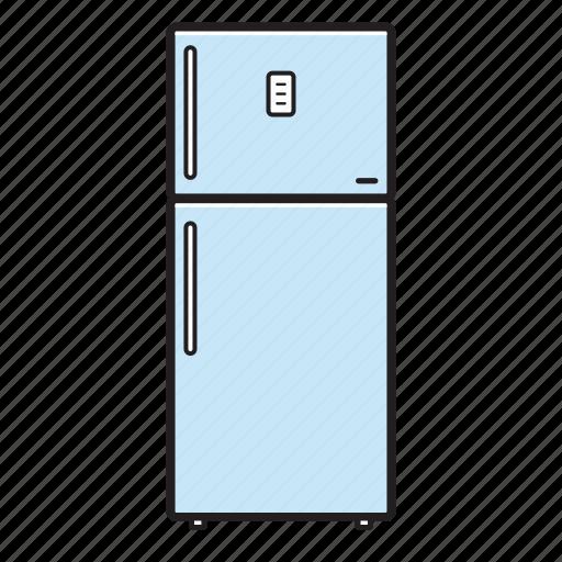fridge, kitchen icon