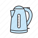 jug, kettle, kitchen icon