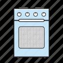 kitchen, oven, range