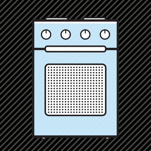kitchen, oven, range icon