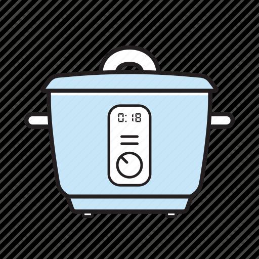 kitchen, pot icon