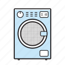 wash machine, washing, washing machine icon