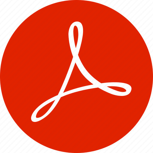 acrobat, adobe, document, file, format, pdf, type icon