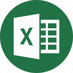 document, excel, file, format, microsoft, spreadsheet, type icon