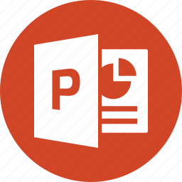 document, file, format, microsoft, powerpoint, ppt, type icon