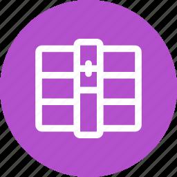 archive, compressed, file, rar, type, unrar, winrar icon
