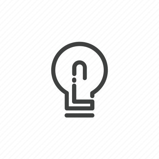 brainstorming, bubble, idea, light, switch, thinking icon
