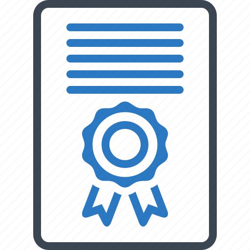 agreement, certificate, contract, document icon