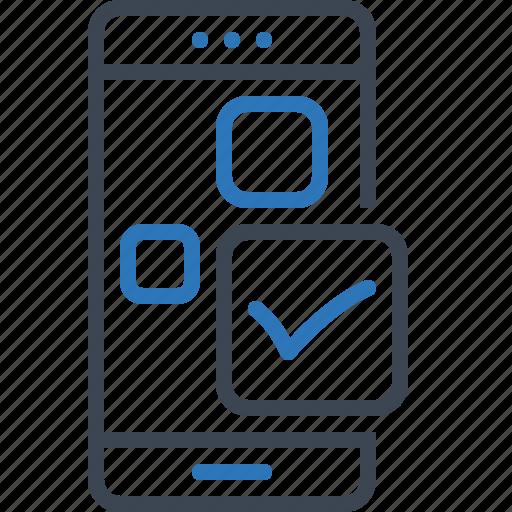 app, application, aprove, check, mobile icon