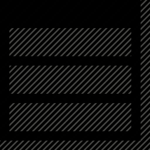 dock, horizontally, layout, split, view, window, workspace icon