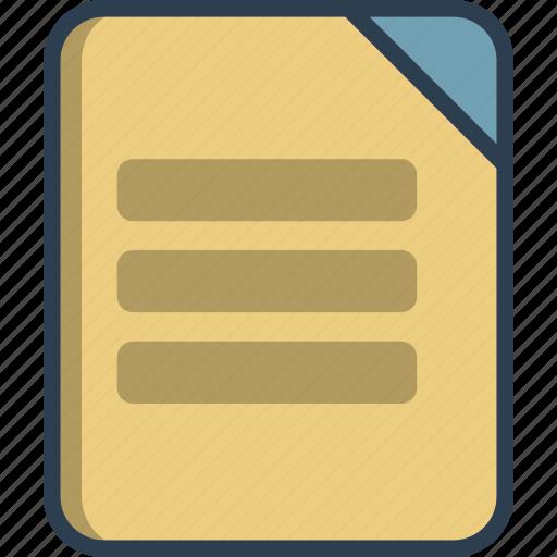 application, document, files, folder, media, reading, software icon