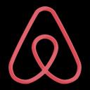airbnb, apps, platform icon