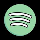 spotify, apps, platform icon
