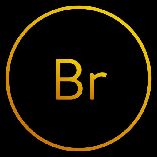 adobe, app, bridge, cs icon