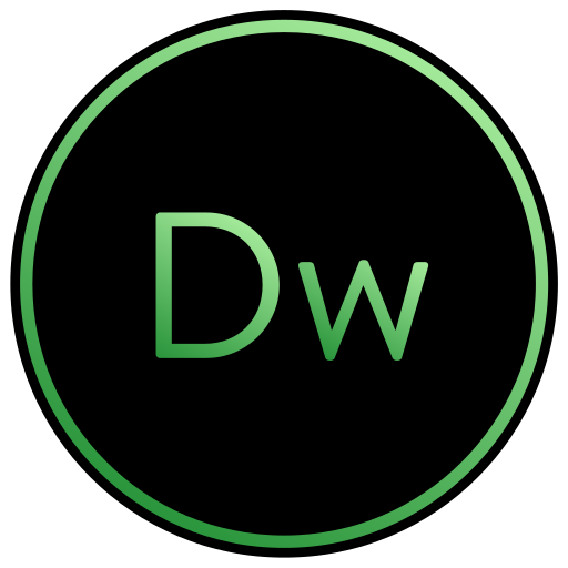 adobe, app, coding, cs, design, dreamweaver, web icon