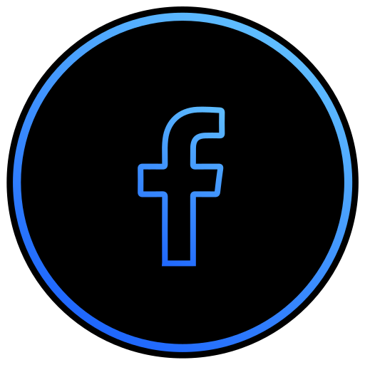 app, facebook, network, program, social media icon