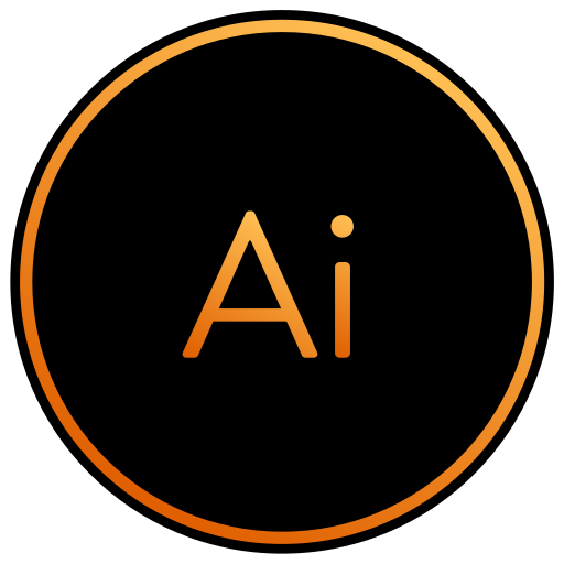 adobe, app, art, design, graphic, illustrator icon