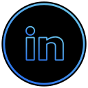 app, linked in, linkedin, media, network, social, web icon